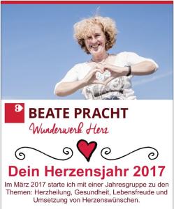 Dein Herzensjahr 2017 mit Beate Pracht