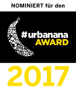 Prachtlamas ist mit #lamaart für den #urbanana-Award nominiert!