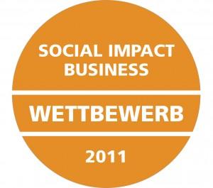 Logo vom Social Impact Business- Wettbewerb 2011, Augezeichnete: Prachtlamas