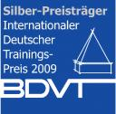 Internationaler Deutscher Trainingspreis 2009 in Silber für Burnout-Seminar mit Pracht Lamas