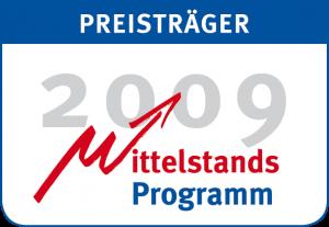 Beate Pracht ist Preisträgerin beim Mittelstandsprogramm 2009