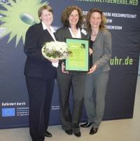 Das Team vom Unternehmen Prachtlamas wird mit dem 3. Platz beim Benchmark Wettbewerb ausgezeichnet