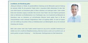 Auszug aus dem Geschäftsbericht der Gelsenwasser AG 2010 (Seite 97)