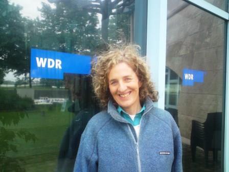 Beate Pracht live bei Hier und Heute im WDR-Fernsehen 2018 als TV-Expertin und Zilgrei-Lehrerin