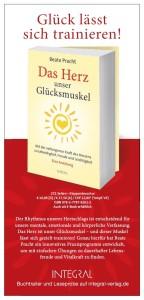 """Flyer zum Buch """"Das Herz, unser Glücksmuskel"""""""