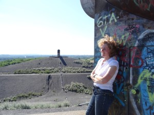 Autorin Beate Pracht - Rungenberghalde Gelsenkirchen Ruhrgebiet NRW
