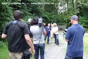 Der WDR-Fersehkoch Horst Lichter fährt durch das Ruhrgebiet und traf dort Herzintelligenz-Trainerin Beate Pracht und ihre