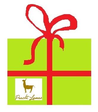 Geschenkideen mit Lamas - Geschenk-Gutscheine von den Prachtlamas