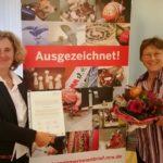 Beate Pracht wurde im Oktober 2017 mit dem Unternehmerinnenbrief NRW ausgezeichnet