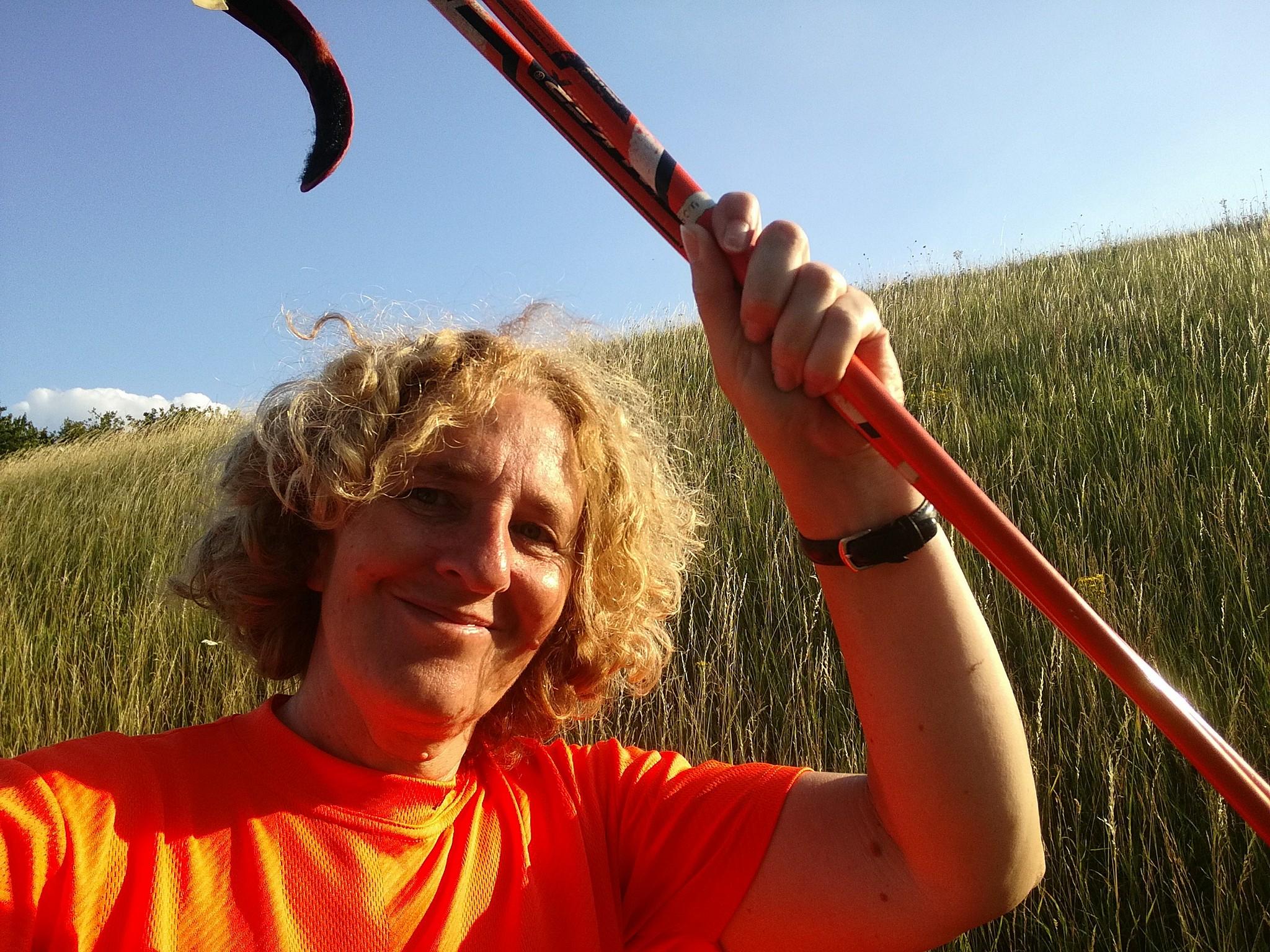 Beate Pracht live im Radio und im WDR Fernsehen zum Thema Nordic Walking
