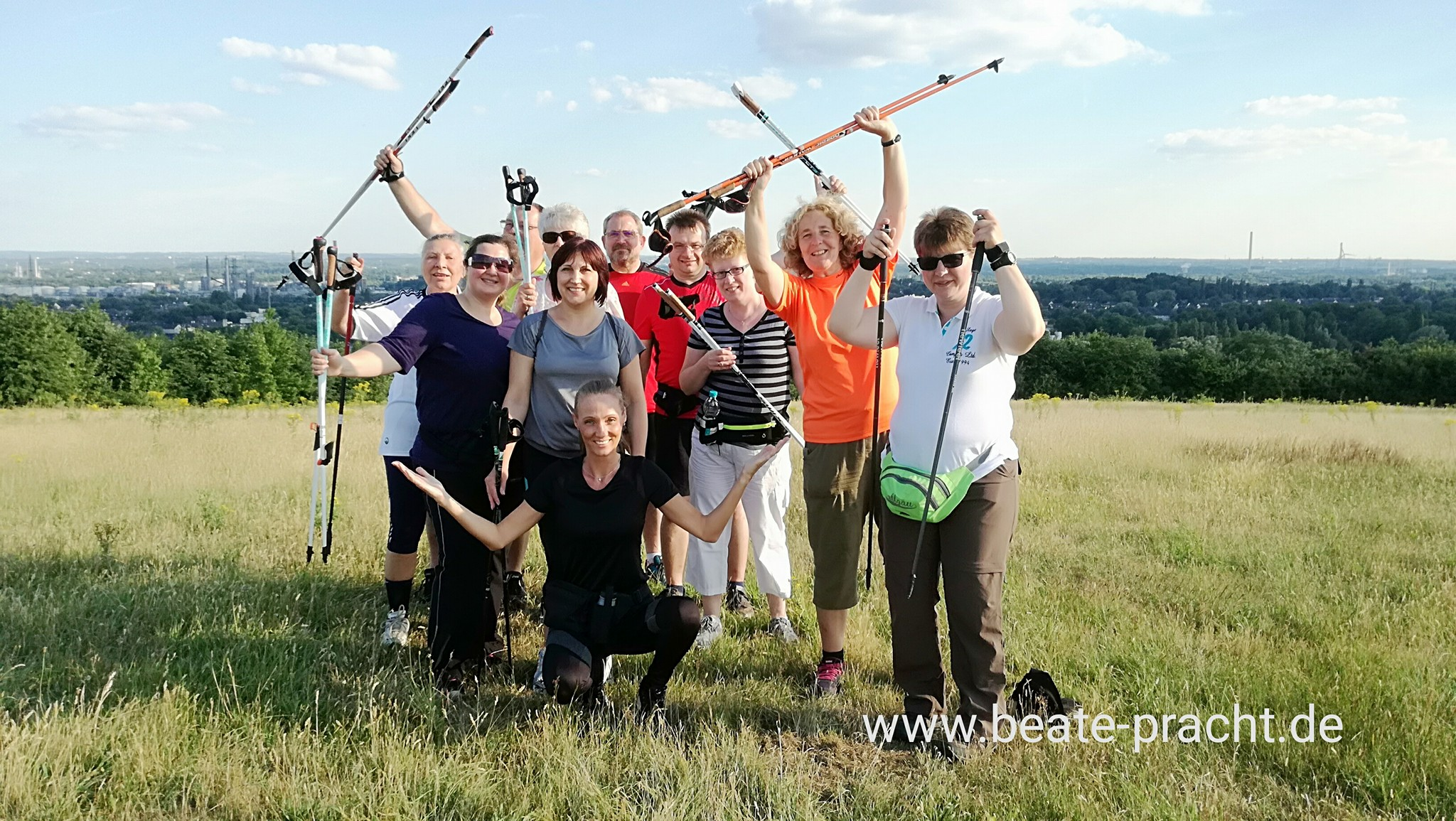 AOK-Nordic Walking Kurs in Gelsenkirchen-Mitte / Stadtgarten ab 3. April 2019