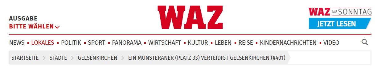 Reportage im Deutschlandfunk Kultur und WAZ mit Beate Pracht und den Prachtlamas - Leben in Gelsenkirchen