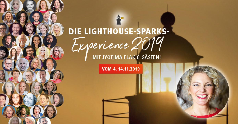 Lighthouse Sparks Experience 2019 mit JyotiMa Flak und Beate Pracht