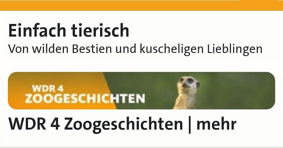 WDR 4 - Radio- Einfach tierisch -Simone Sombecki erzählt von den Prachtlamas 2019-12-06