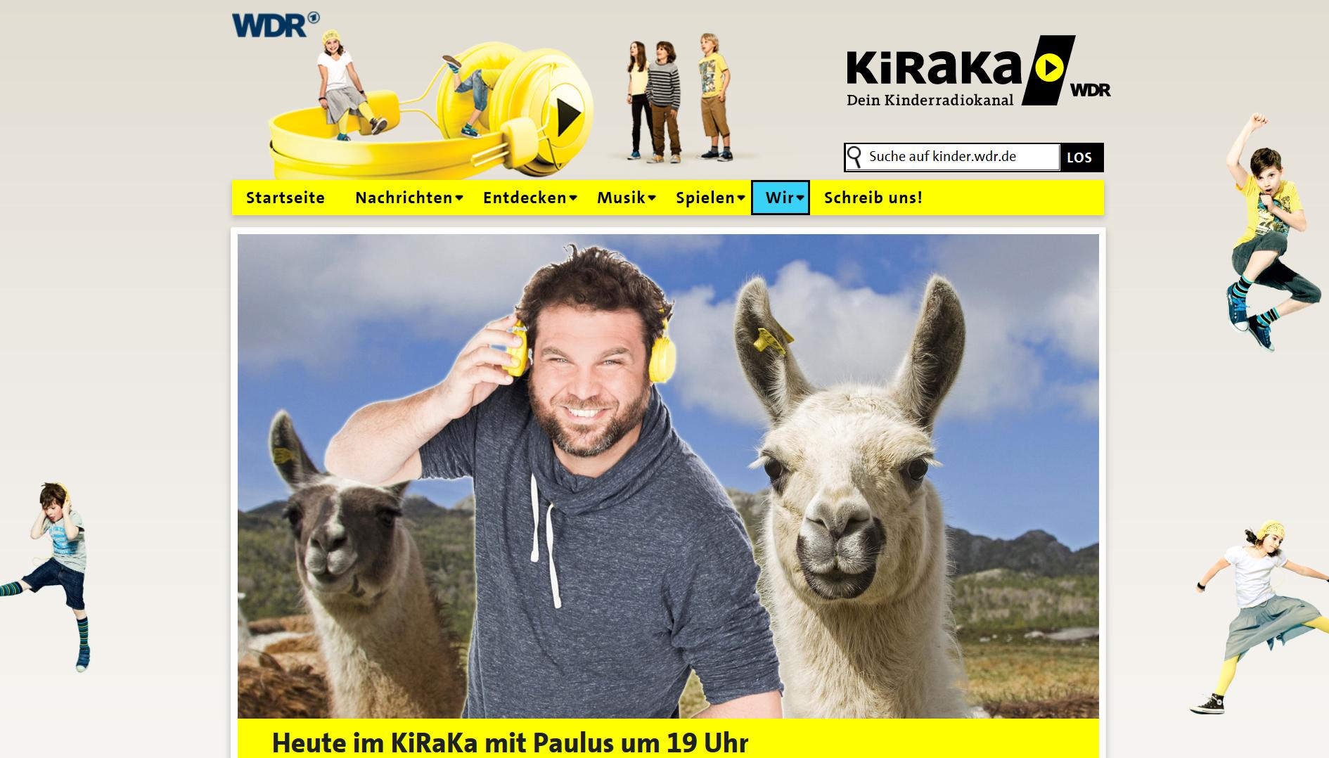 Wenn Kinder auf Lamas treffen - Radiobericht KiRaKa WDR 5 am 23 Januar 2020 Prachtlamas mit Andrea Eikelmann